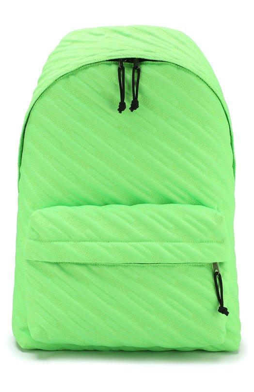 Купить Текстильный рюкзак Explorer Balenciaga, 503221/97NA5, Италия, Светло-зеленый, Текстиль: 100%;