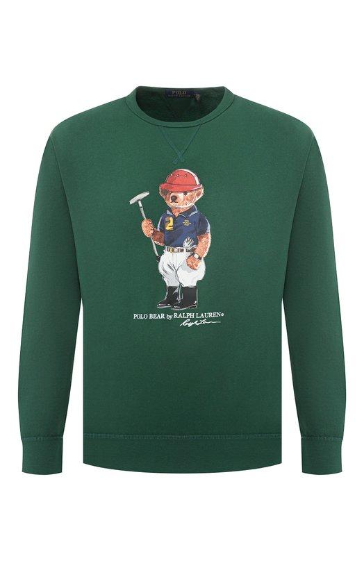 Хлопковый свитшот Polo Ralph Lauren