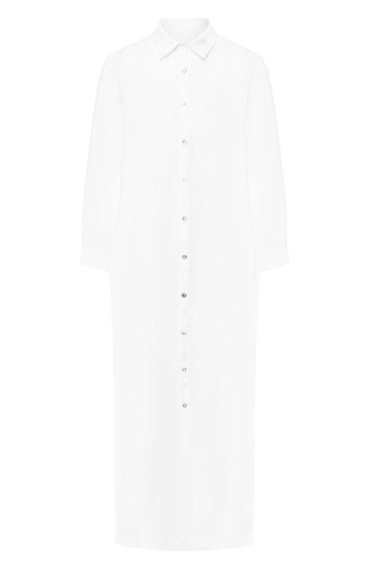Льняное платье-рубашка 120% Lino