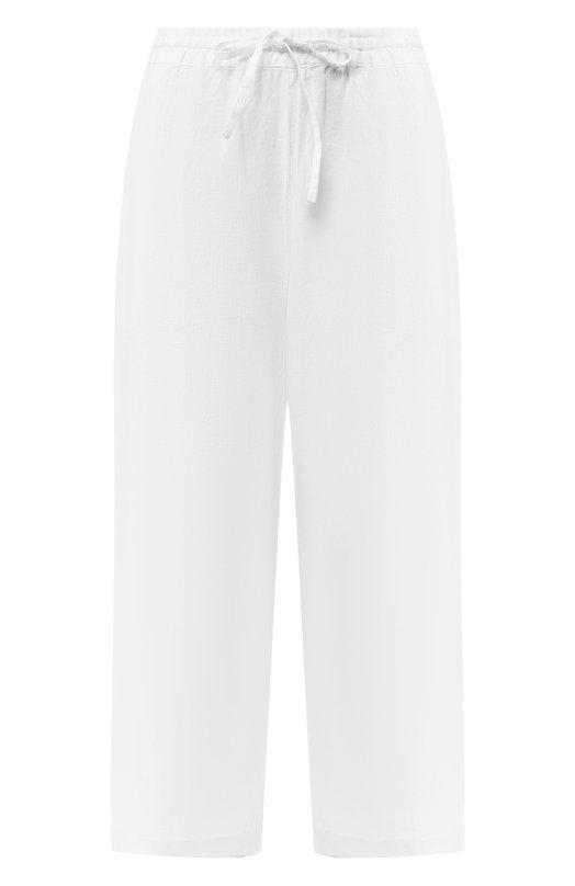 Купить Льняные брюки 120% Lino, P0W2325/0253/000, Болгария, Белый, Лен: 100%;