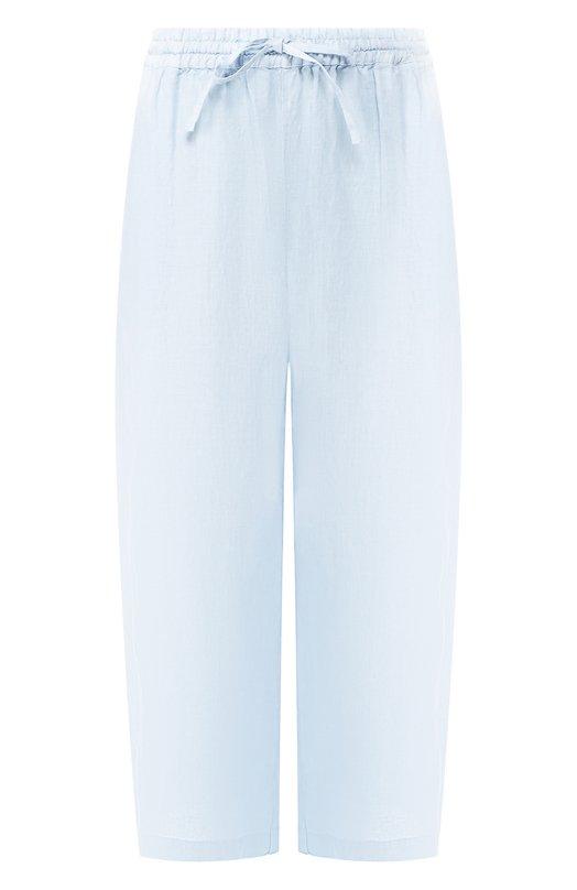 Купить Льняные брюки 120% Lino, P0W2325/0253/000, Болгария, Голубой, Лен: 100%;