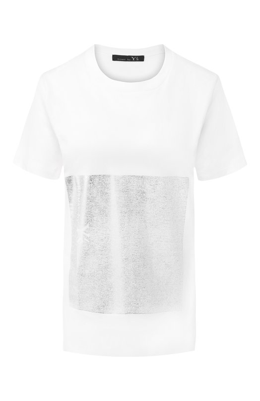 Купить Хлопковая футболка Yohji Yamamoto, YZ-K73-049, Япония, Белый, Хлопок: 100%;