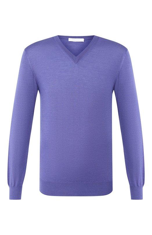 Пуловер из смеси кашемира и шелка Cruciani
