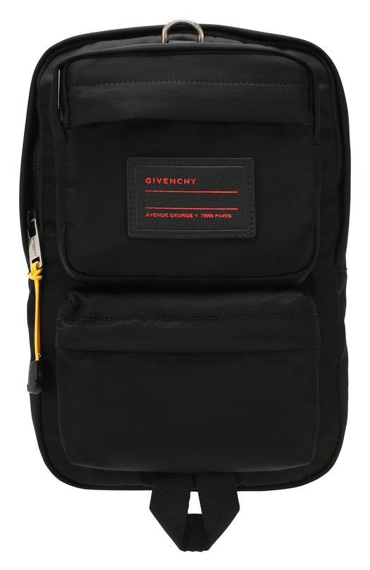 Текстильный рюкзак на одно плечо Ut3 Givenchy