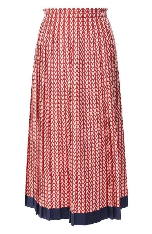 Шелковая юбка Valentino Valentino
