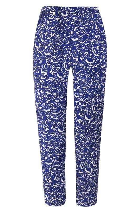 Купить Шелковые брюки Marni, PAMA014A02/TSF04, Португалия, Синий, Шелк: 100%;
