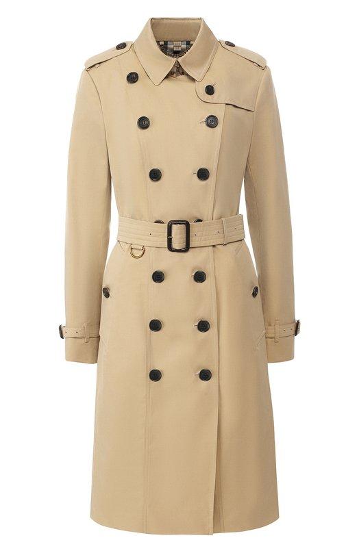 Хлопковое пальто Burberry Burberry
