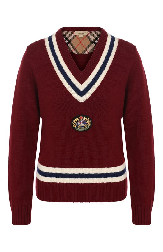 Пуловер из смеси шерсти и кашемира Burberry