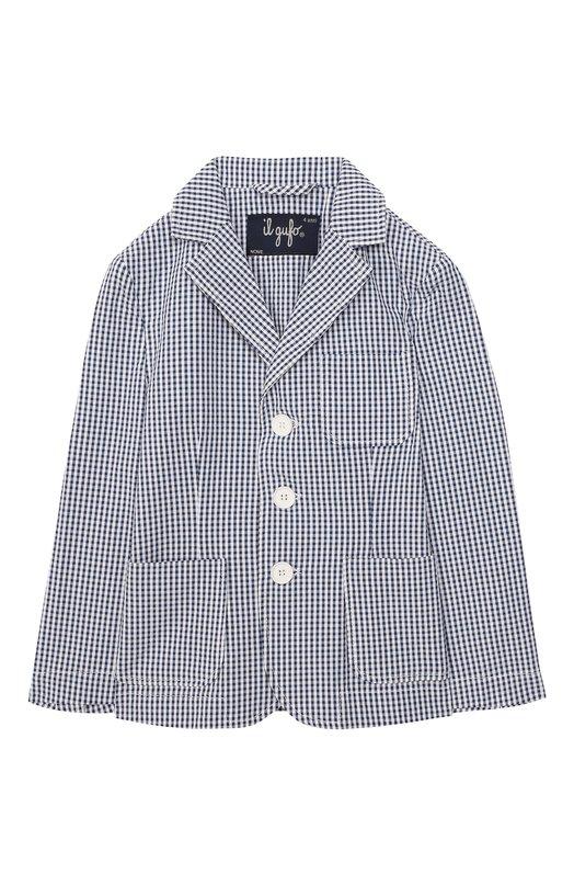 Хлопковый пиджак Il Gufo