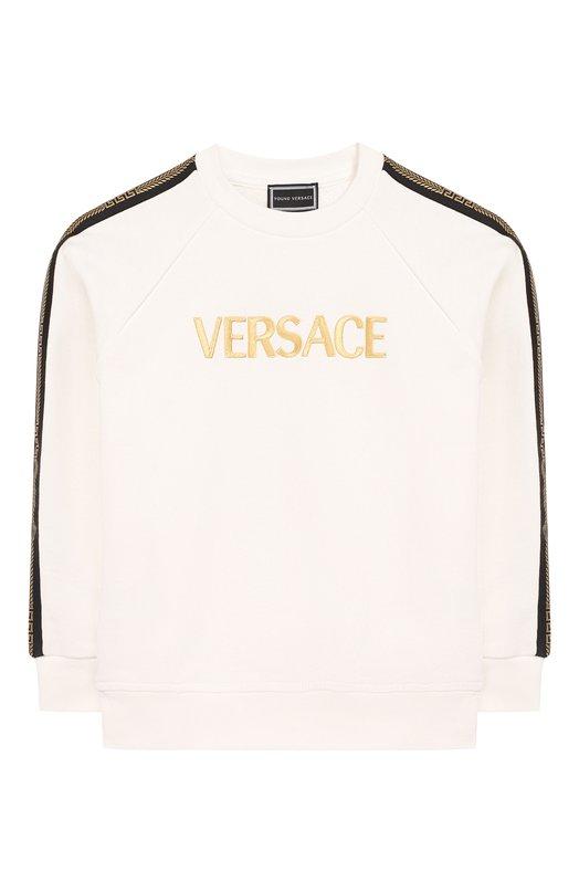 Хлопковый свитшот Young Versace