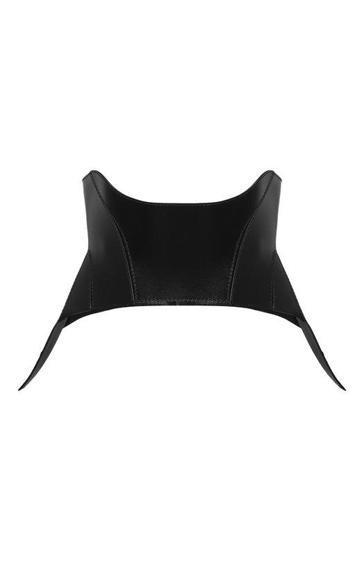 Купить Кожаный корсет Alexander McQueen, 543746/Q5KYI, Италия, Черный, Кожа натуральная: 100%;
