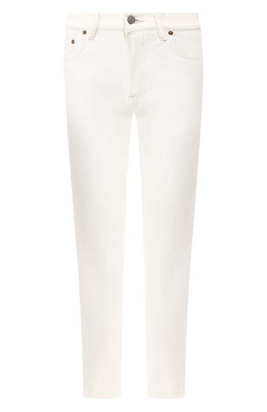 Купить Джинсы с декоративной отделкой Polo Ralph Lauren, 211729815, Тунис, Белый, Хлопок: 100%;