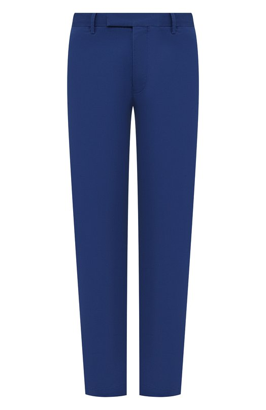 Купить Хлопковые брюки Polo Ralph Lauren, 710644988, Индонезия, Синий, Хлопок: 97%; Эластан: 3%;