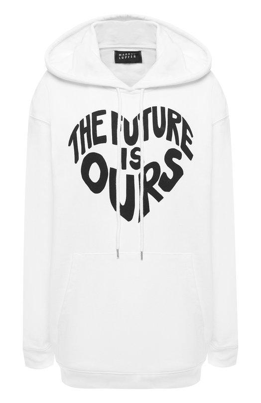 Купить Хлопковый пуловер Markus Lupfer, SW332, Португалия, Белый, Хлопок: 100%;