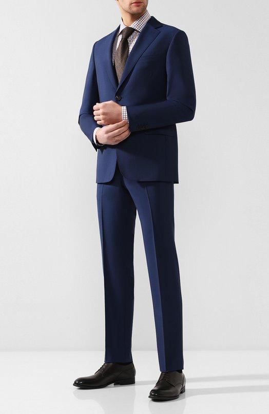 Купить Шерстяной костюм Pal Zileri, 033X022K2--53144, Италия, Синий, Шерсть: 84%; Мохер: 16%;