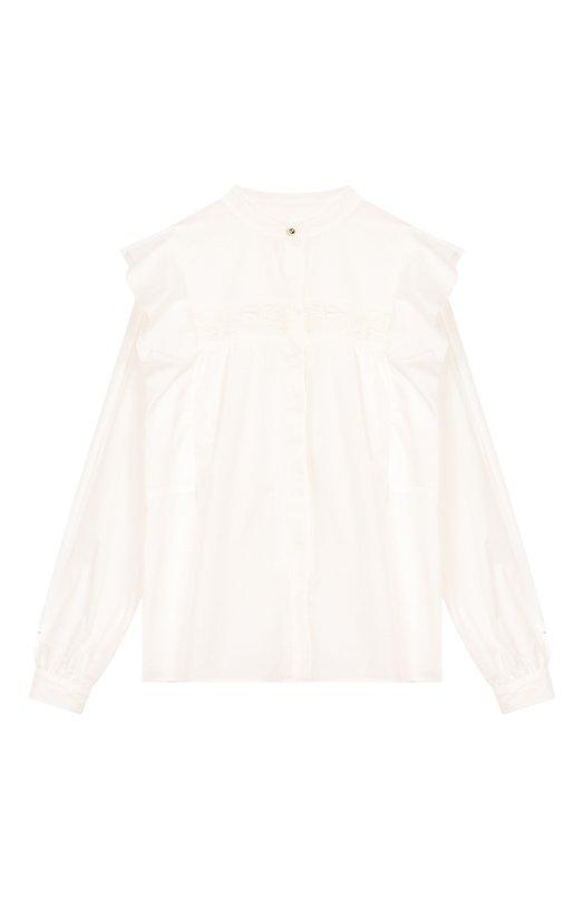 Хлопковая блузка Chloé Chloe