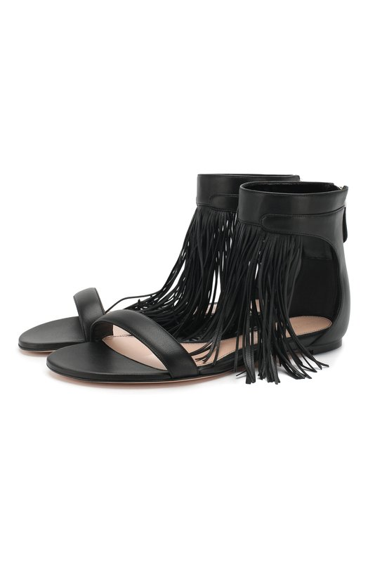 Кожаные сандалии Alexander McQueen