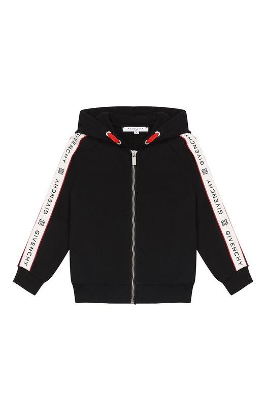 Хлопковый кардиган с капюшоном Givenchy