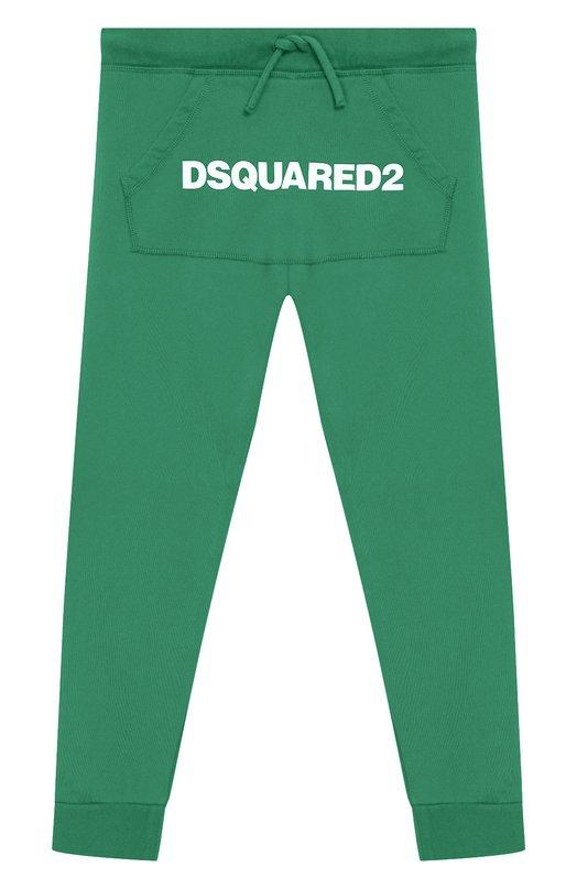 Хлопковые джоггеры Dsquared2