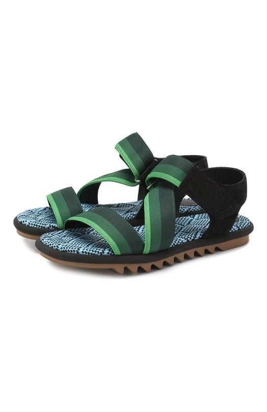 Текстильные сандалии Dries Van Noten