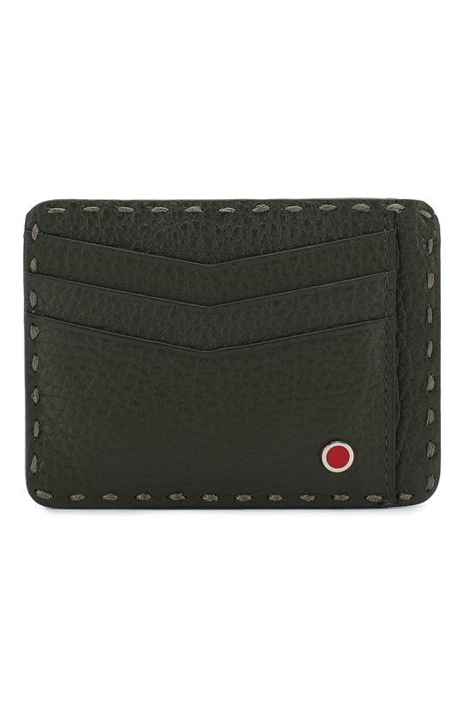 Кожаный футляр для кредитных карт Kiton