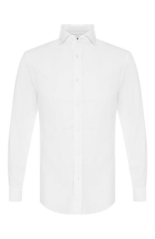 Купить Хлопковая сорочка с воротником кент Ralph Lauren, 790708717, Италия, Белый, Хлопок: 100%;