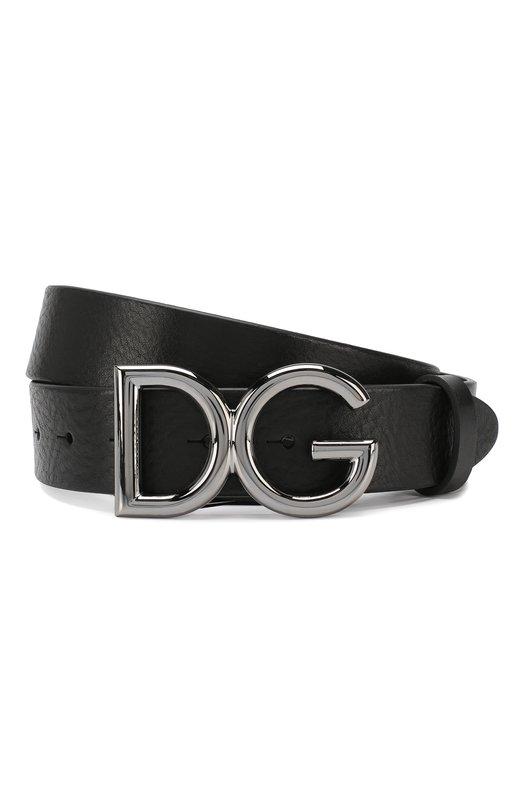 Купить Кожаный ремень Dolce & Gabbana, BC4247/AI894, Италия, Черный, Кожа: 100%;