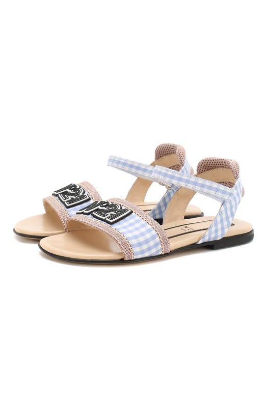 Текстильные сандалии No. 21