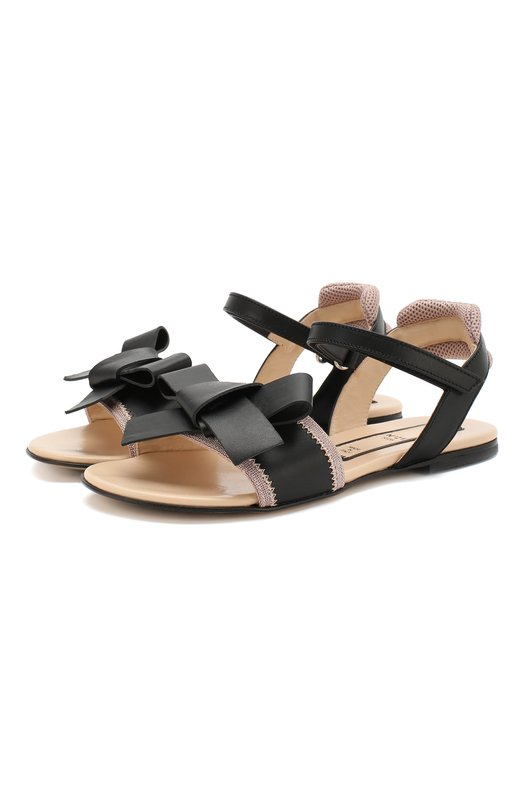 Кожаные сандалии No. 21