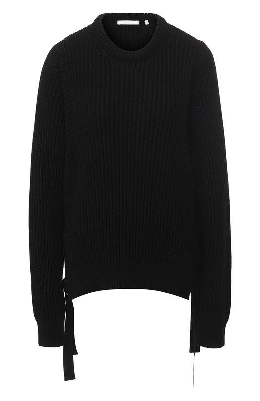 Хлопковый пуловер Helmut Lang