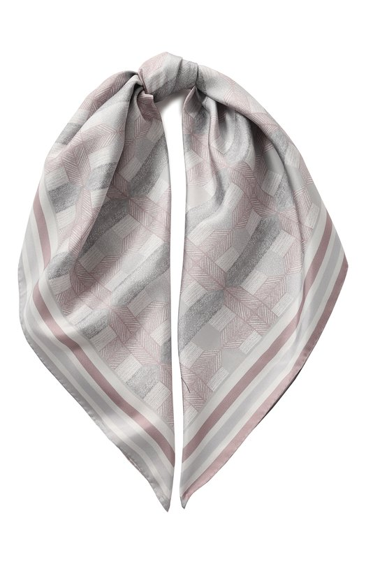 Купить Шелковый платок Giorgio Armani, 795310/8A118, Италия, Разноцветный, Шелк: 100%;