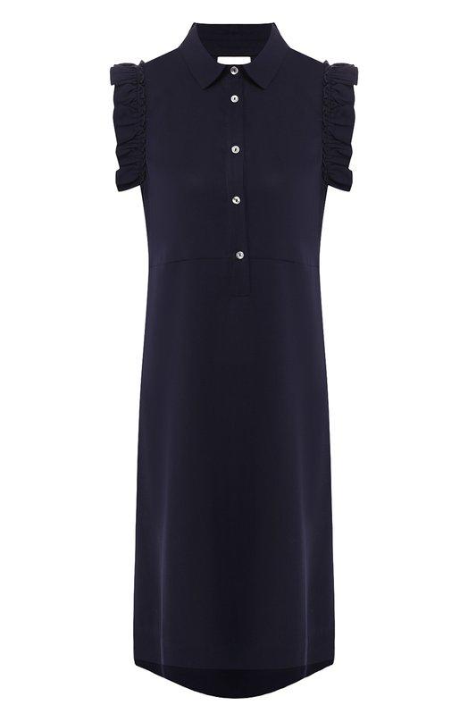 Купить Платье свободного кроя Pietro Brunelli, AG0171/TE0003, Италия, Синий, Тенсел: 100%;