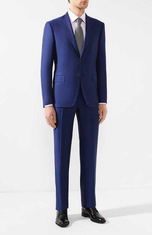 Купить Шерстяной костюм Pal Zileri, 033XV22L2--53022, Италия, Синий, Шерсть: 100%;