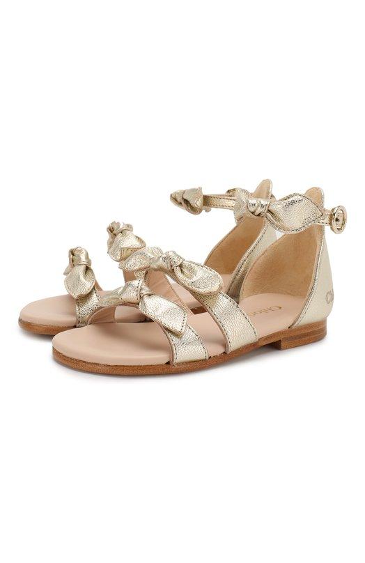 Кожаные сандалии Chloé Chloe