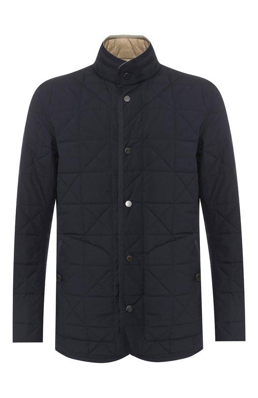 Купить Двусторонняя куртка Z Zegna, VS019/ZZ100, Китай, Темно-синий, Полиэстер: 100%; Подкладка-полиамид: 100%; Набивка-полиэстер: 100%;