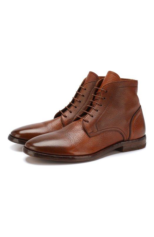 Купить Кожаные ботинки Moma, 18904-5E, Италия, Коричневый, Подошва-кожа: 75%; Подошва-резина: 25%; Подкладка-кожа: 100%; Кожа: 100%; Стелька-кожа: 100%;