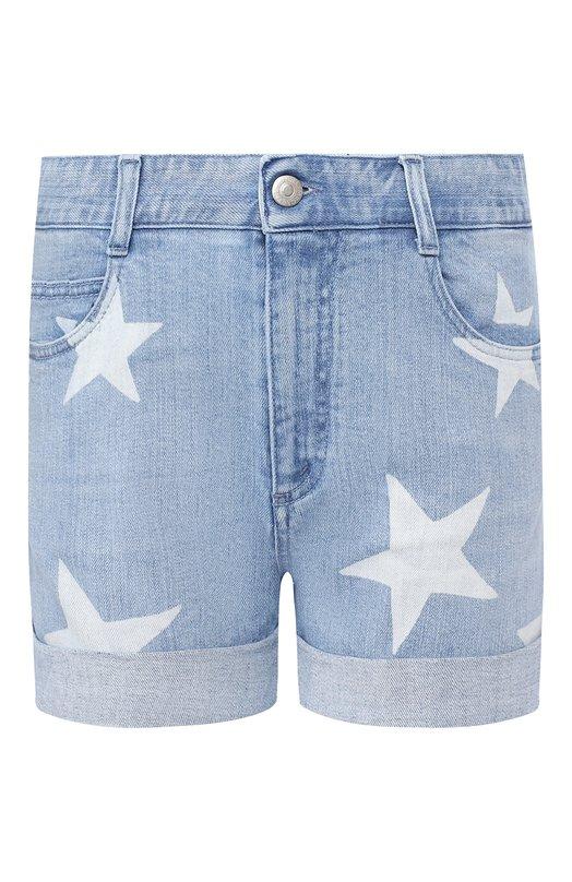 Купить Джинсовые шорты Stella McCartney, 548557/SEH28, Италия, Голубой, Хлопок: 98%; Эластан: 2%;