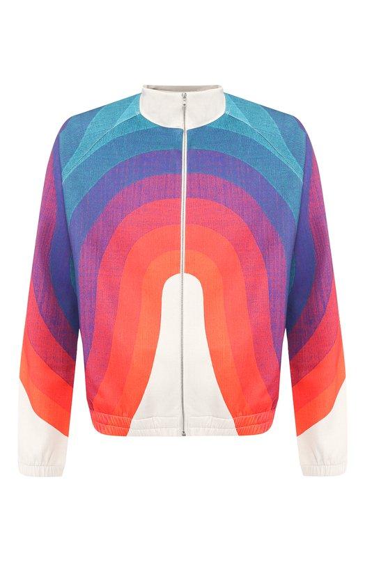 Купить Кардиган Dries Van Noten, 191-21146-7073, Турция, Разноцветный, Полиэстер: 92%; Эластан: 8%;