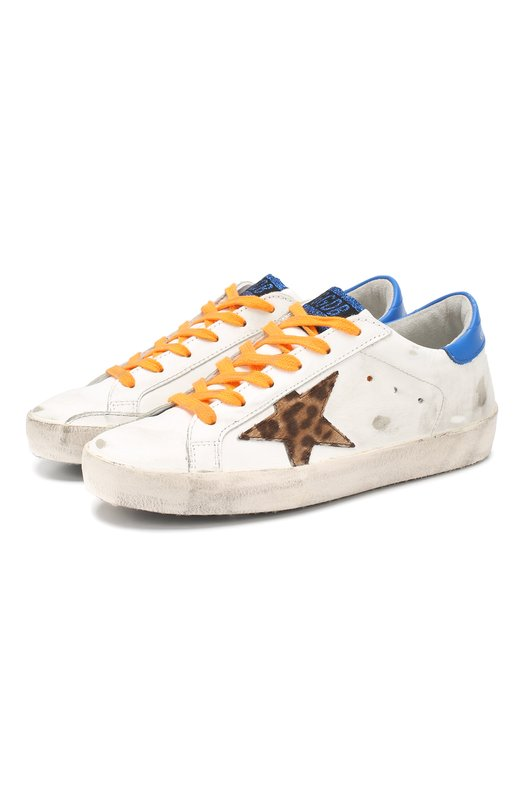 Кожаные кеды SuperStar Golden Goose Deluxe Brand Golden Goose Deluxe Brand