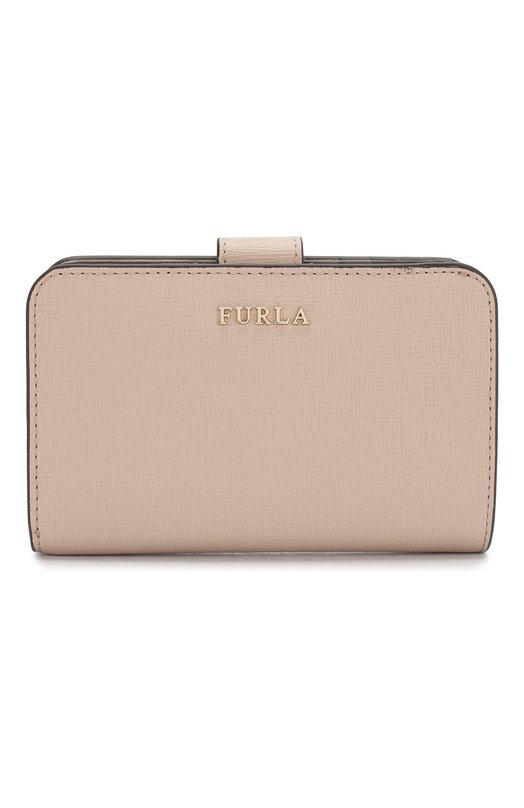 Купить Кожаный кошелек Babylon Furla, PR85, Китай, Бежевый, Кожа натуральная: 100%;