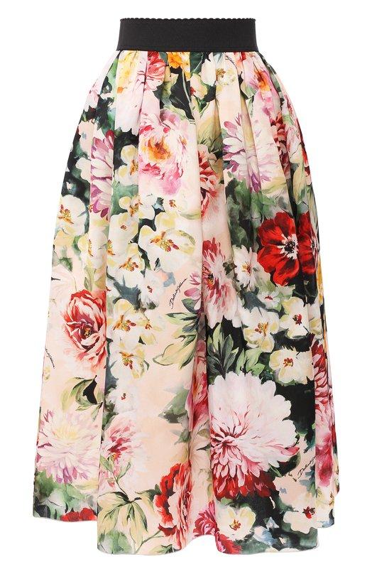 Шелковая юбка Dolce & Gabbana Dolce & Gabbana
