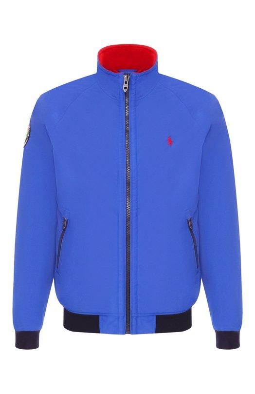Купить Бомбер Polo Ralph Lauren, 710730670, Китай, Синий, Подкладка-текстиль: 100%; Полиамид: 100%;