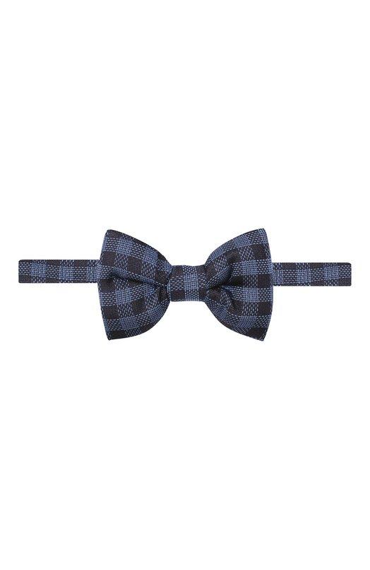 Купить Шелковый галстук-бабочка Tom Ford, 5TF49/4CH, Италия, Синий, Шелк: 100%;