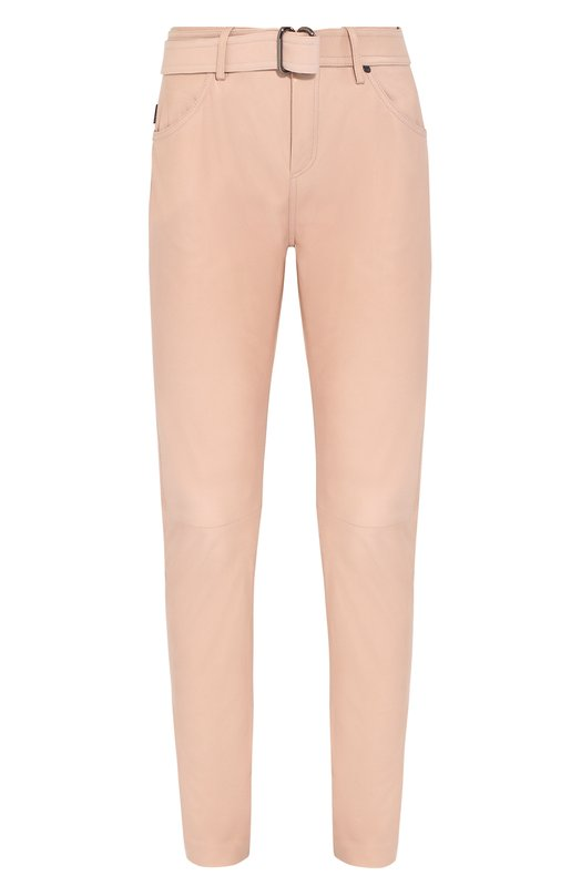 Купить Кожаные брюки Tom Ford, PAL647-LEX181, Италия, Розовый, Подкладка-шелк: 94%; Подкладка-эластан (полиуретан): 6%; Кожа: 100%; Кожа натуральная: 100%;