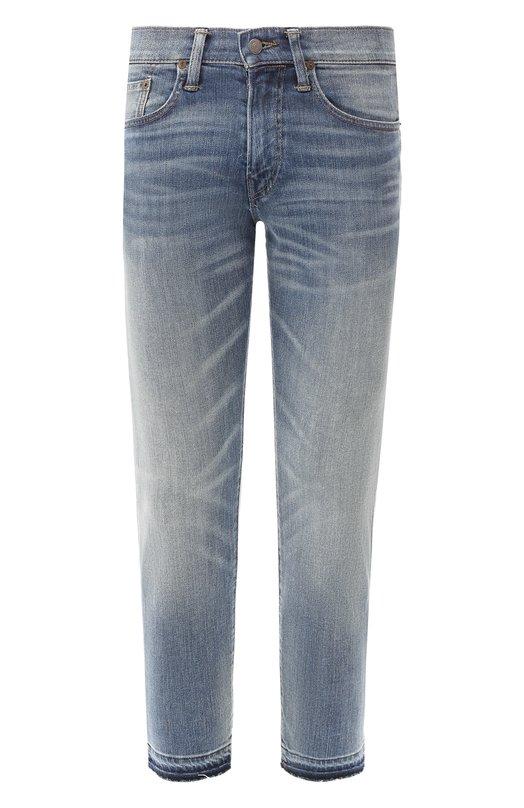 Купить Джинсы прямого кроя Polo Ralph Lauren, 710738769, Мексика, Синий, Хлопок: 98%; Эластан: 2%;