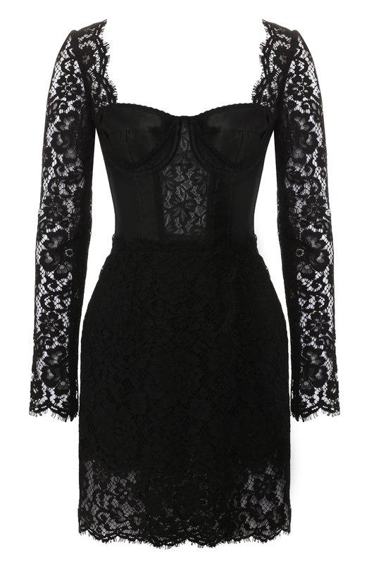 Кружевное платье Dolce & Gabbana Dolce & Gabbana
