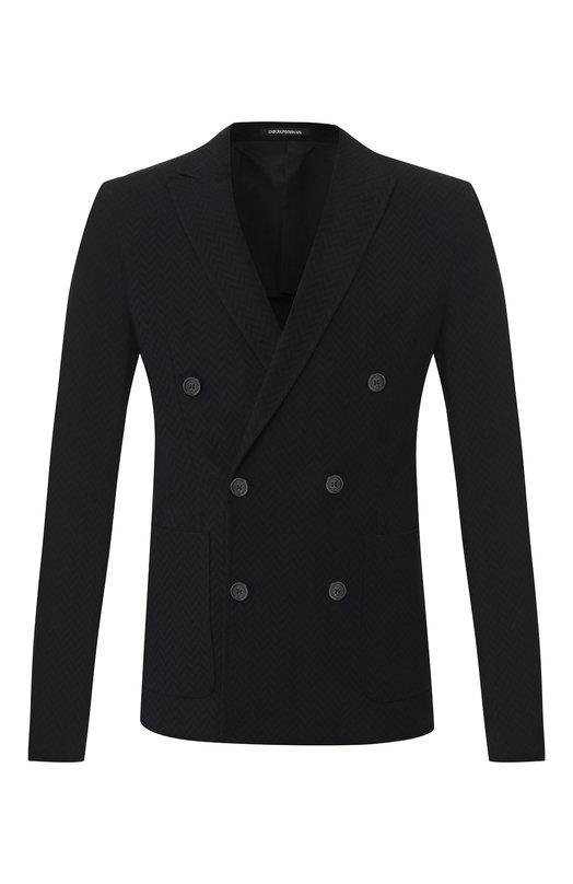 Шерстяной пиджак Emporio Armani