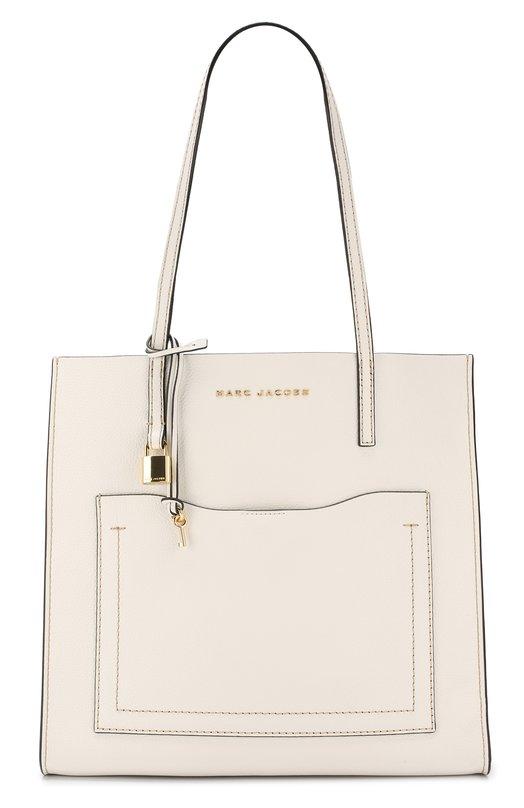 Купить Сумка-тоут The Grind Marc Jacobs, M0014262, Китай, Белый, Кожа натуральная: 100%;