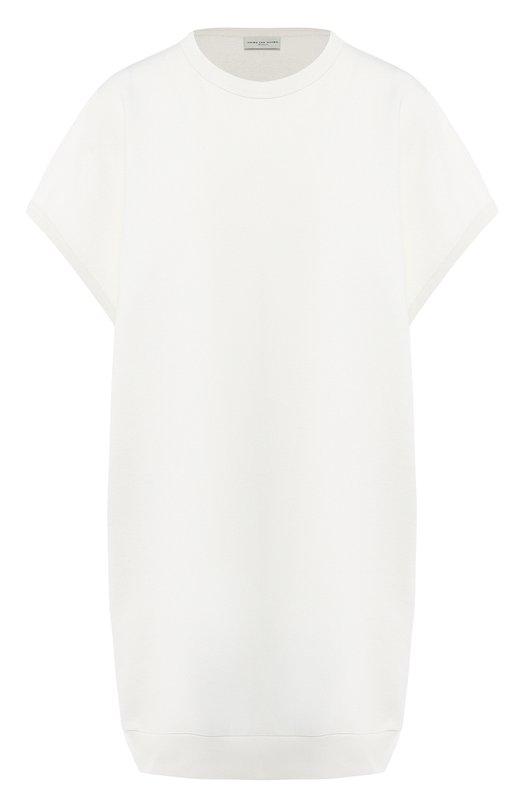 Купить Хлопковое платье Dries Van Noten, 191-31156-7617, Турция, Белый, Хлопок: 100%;
