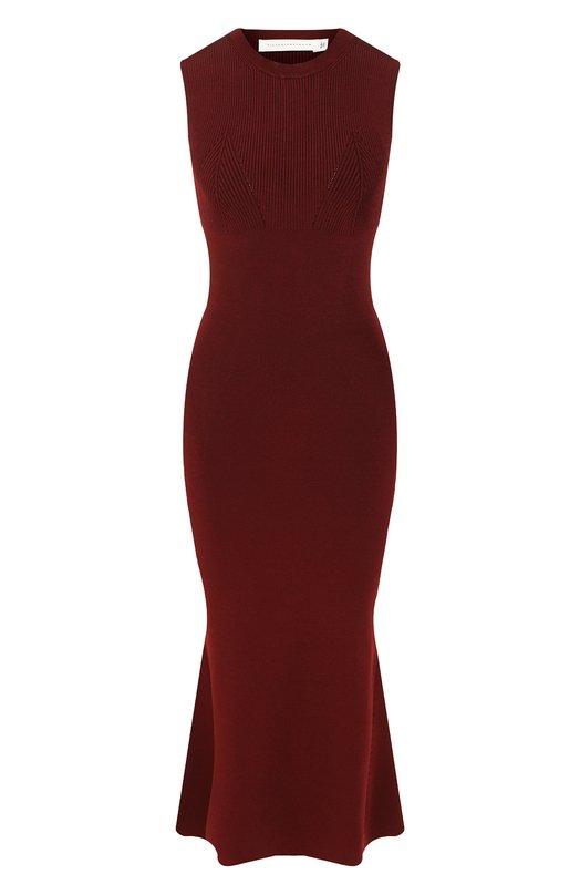 Платье из вискозы Victoria Beckham Victoria Beckham